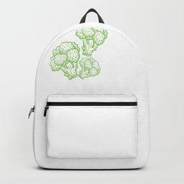 broccoli broccoli is the food of the soul vegetables Backpack