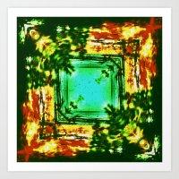 kerouac Art Prints featuring jack kerouac -  by stoneRage