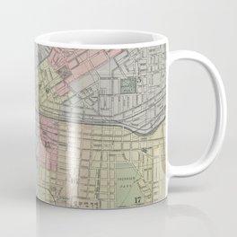 Vintage Map of Syracuse New York (1920) Coffee Mug
