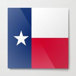 Texas State Flag Metal Print