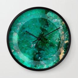Crystal Round III Wall Clock