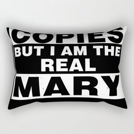 I Am Mary Funny Personal Personalized Gift Rectangular Pillow