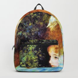 Pierre-Auguste Renoir - Miss Irene Cahen From Antwerp - Digital Remastered Edition Backpack