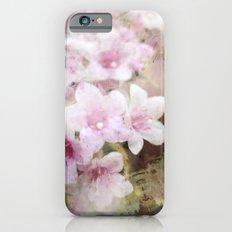 Floral Pink Slim Case iPhone 6s
