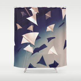 Paper Wings Shower Curtain