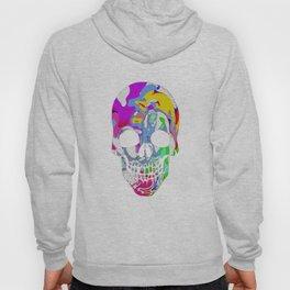 Tye Dye Skull Hoody