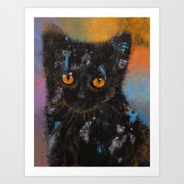 Bombay Kitten Art Print