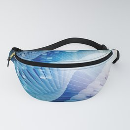 DNA Molecule Helix Science Abstract Background Art Fanny Pack