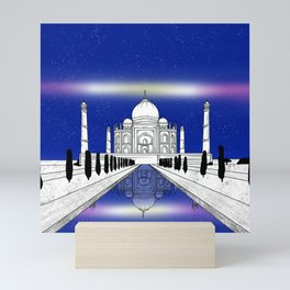 Taj Mahal India Mini Art Print