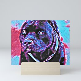 Pit Bull Models: Khan 02-03 Mini Art Print