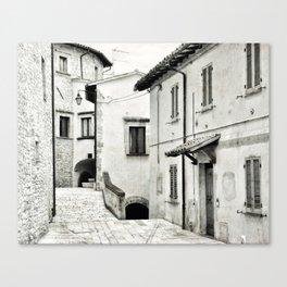 Italian street view 03 Canvas Print