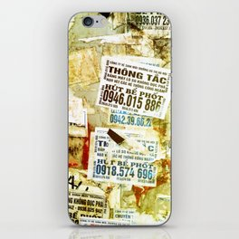 Viet flyers iPhone Skin