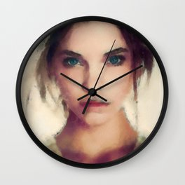Soft Beauty Wall Clock