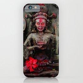 Hindu Kali 14 iPhone Case