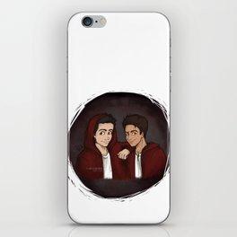 "Teen Wolf ""Scott & Stiles"" iPhone Skin"