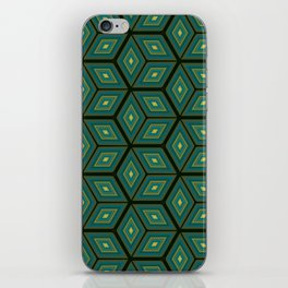 Cubed Geometrical Pattern iPhone Skin