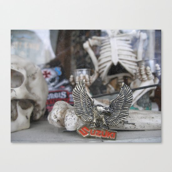 Skeleton Wares Canvas Print