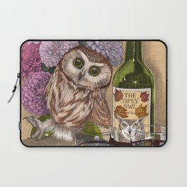 The Tipsy Owl Laptop Sleeve