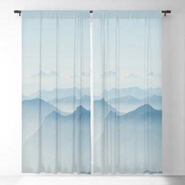 Blue mountain Blackout Curtain