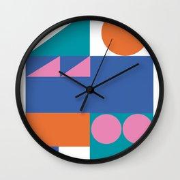 Minimalist geometries Wall Clock