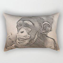 Lmtd Edition Baby Chimp Rectangular Pillow