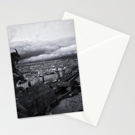 The Gargoyle Guarding Paris. Stationery Cards
