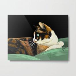 My lovely cat Metal Print
