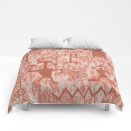 Petroglyphs Comforters