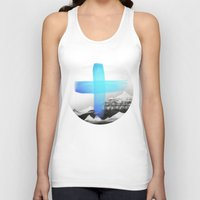mountains Tank Tops featuring Mountains by Amy Hamilton