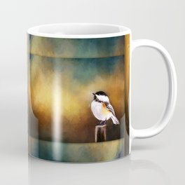 Chickadee in Morning Prayer Coffee Mug