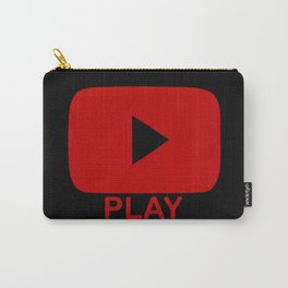 Play Button Carry-All Pouch