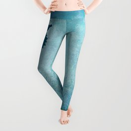Seahorse of a Different Color ~ Marine Life ~ (Copyright 2015) Leggings