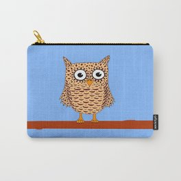 Owl colour Carry-All Pouch