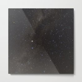 The Milky way and Stars Metal Print