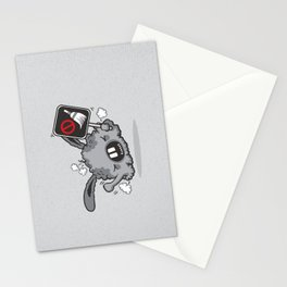 Dust Bunny Hate Clean! Stationery Cards