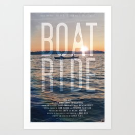 BOAT RIDE - Theatrical One-Sheet Art Print