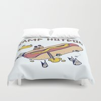 camp Duvet Covers featuring CAMP by Laura O'Connor