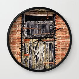 Stable Door Outside Wall Clock
