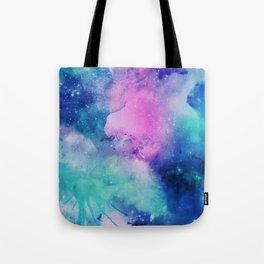 Purple Universe Tote Bag