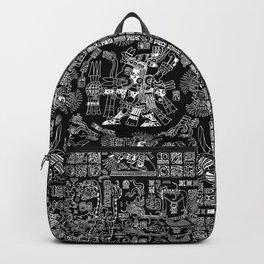 Mayan Spring B&W II Backpack