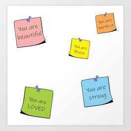 You are reminders Art Print