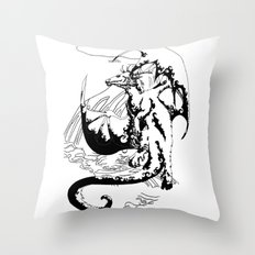 A Dragon from your Subconscious Mind #12 Throw Pillow