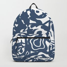 Navy Flower Bundle Backpack