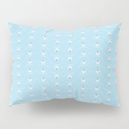 The Eye - Baby blue Pillow Sham