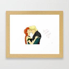 Kisses Framed Art Print