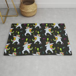 Unicorn DAB Pattern Rug