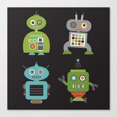 Robot Life Canvas Print
