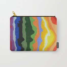 Mini Mountain Stripes Carry-All Pouch