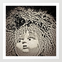 Crazy-Hair Doll Art Print