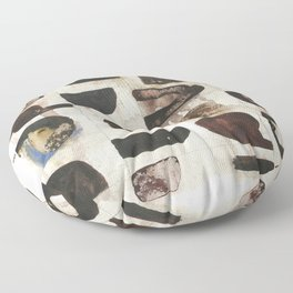 After The Laughter Floor Pillow